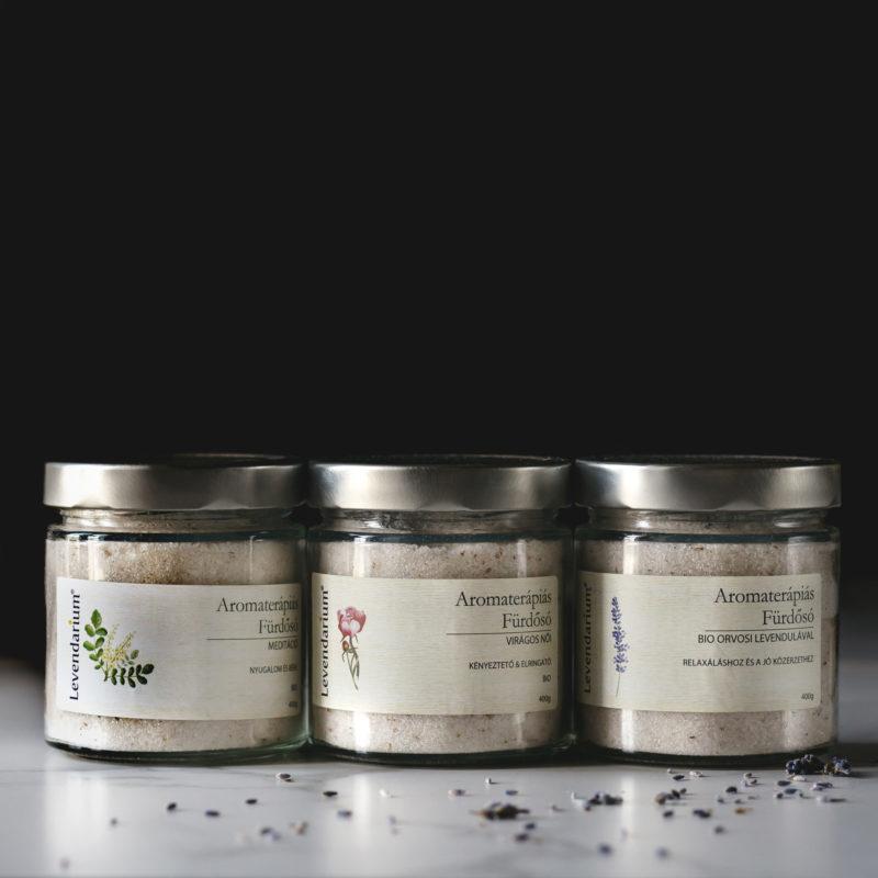 Aromaterápiás Fürdősók